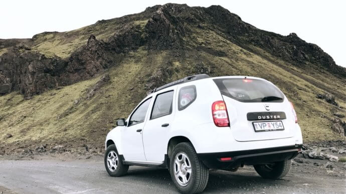 Dacia Duster в Исландии