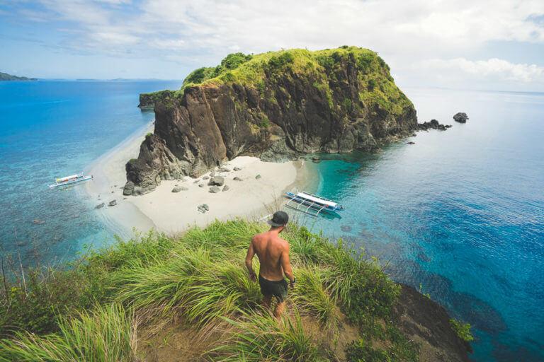 Пляж Карамоан на Филиппинах
