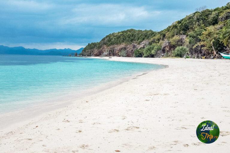 Малкапуя (Malcapuya) пляж