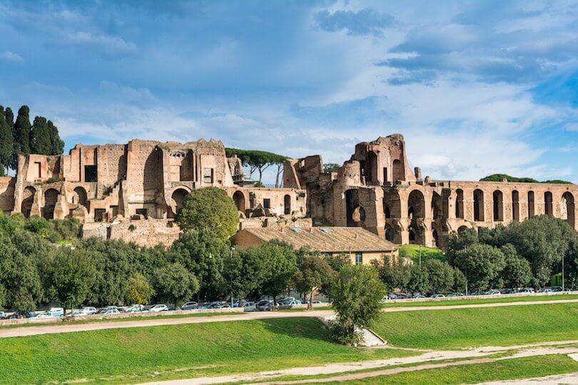 Палатин-Хилл в Риме
