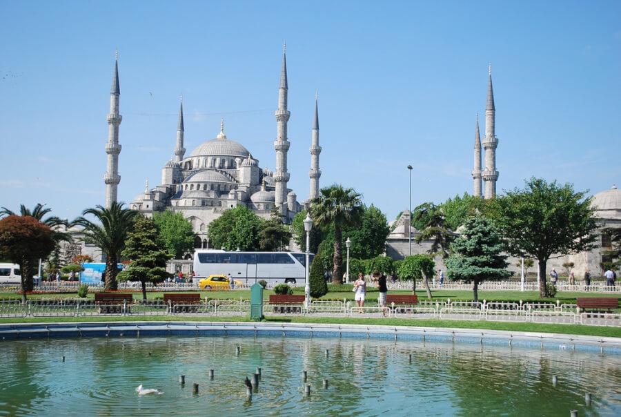 голубая мечеть в Стамбуле