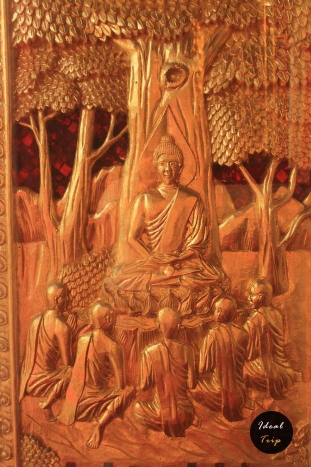 Изображение монаха в Чеди
