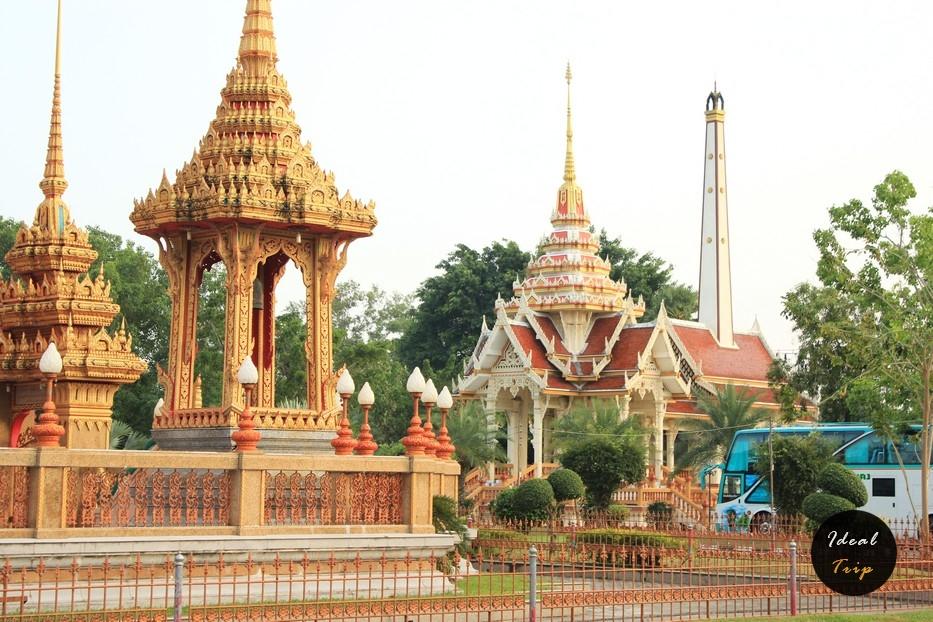 Ват Чалонг на Пхукете подробно о храме как добраться