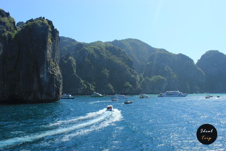Яхты и лодки на Пхи Пхи