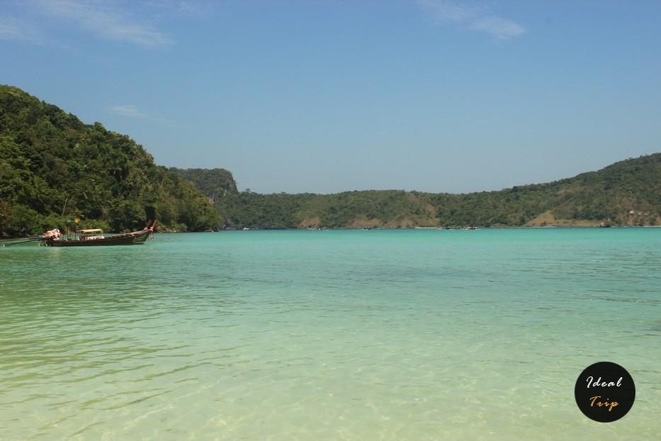 Пляж на Пхи Пхи
