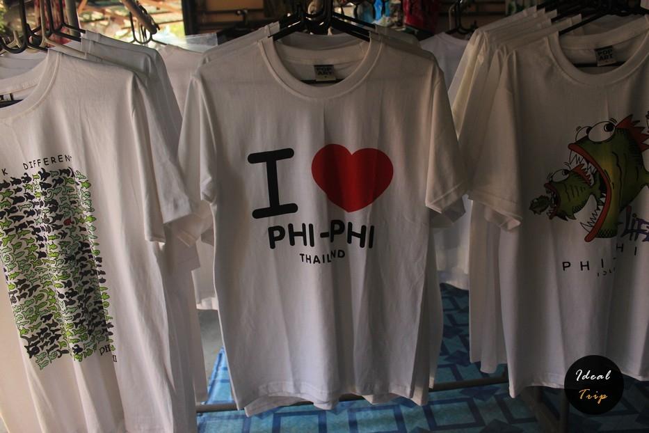 Футболка I Love Phi-Phi