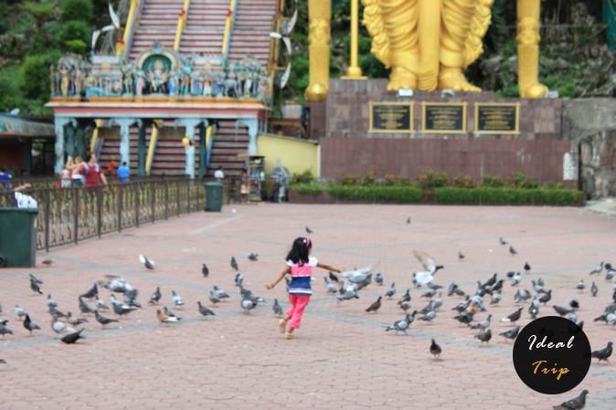 Индуистская девочка