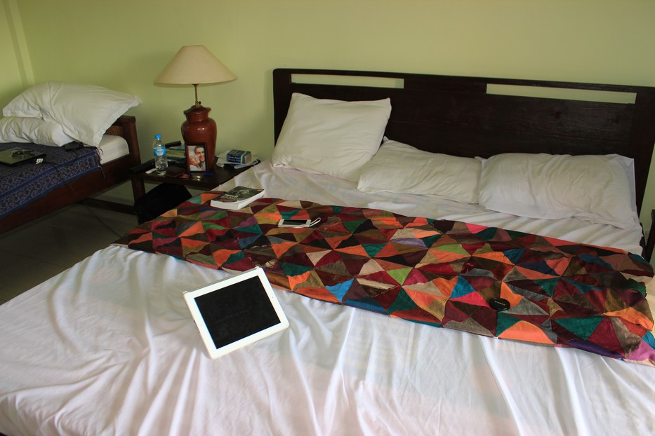 Спальня в отеле Бали
