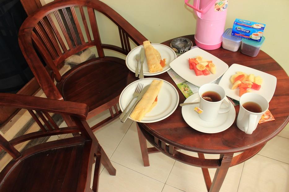 Завтрак в отеле на Бали