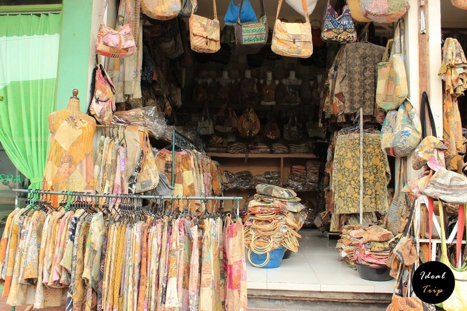 Популярная на Бали одежда из льна
