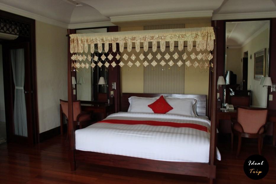 Спальня отеля на Бали