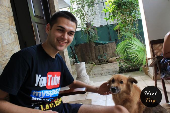 Станислав Матвеев и собака
