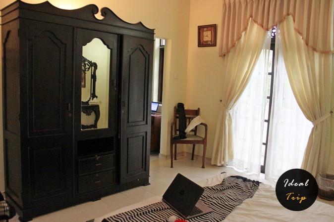 Комната, которую сдавала Мисс Шри Ланка
