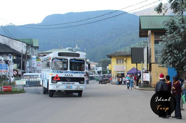 Классический автобус Шри Ланки