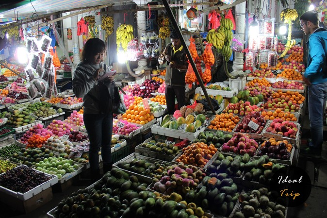 Рынок в Нувара Элия