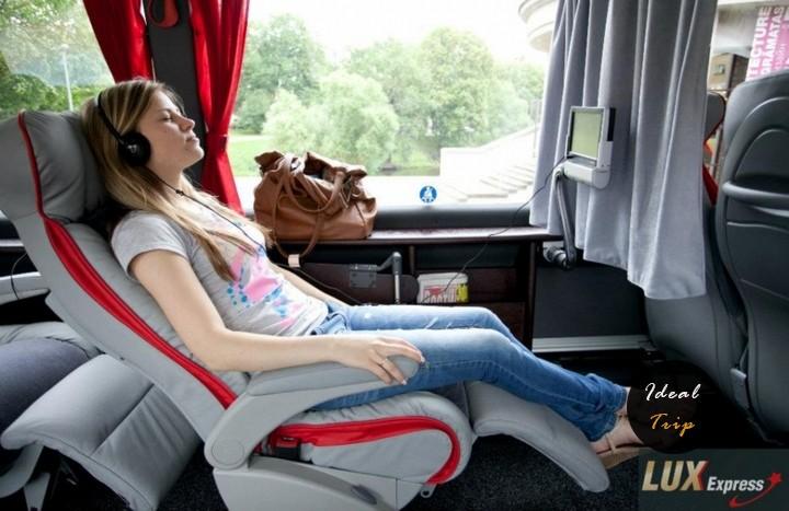 Перемещение на автобусах до Таллина