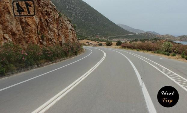 Дороги в Крите