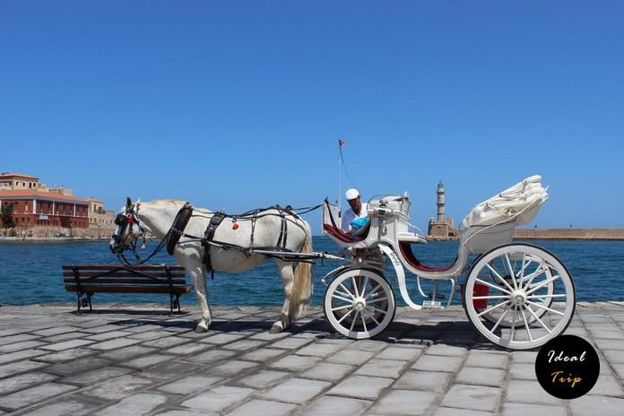Лошадь в Хании