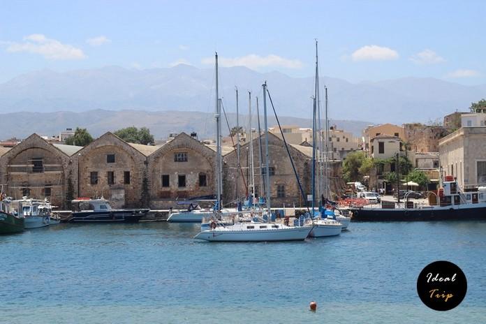 Набережная Хании и часть старого города