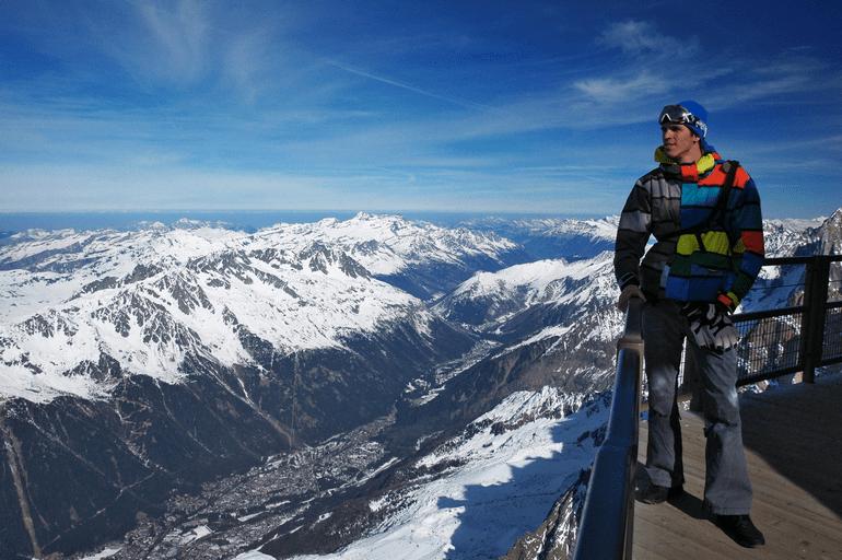 Альпийские горы и Павел