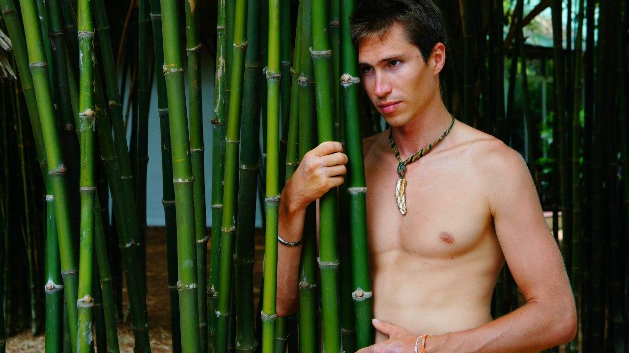 Павел Бондарев и тростник