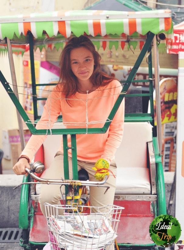 Саша в Макао