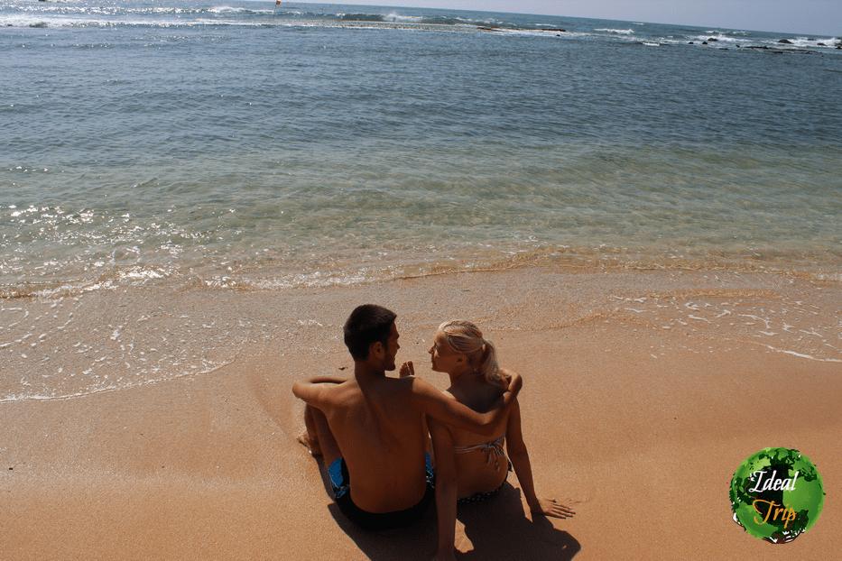 Станислав Матвеев и Кристина Эндлесс на Шри-Ланке