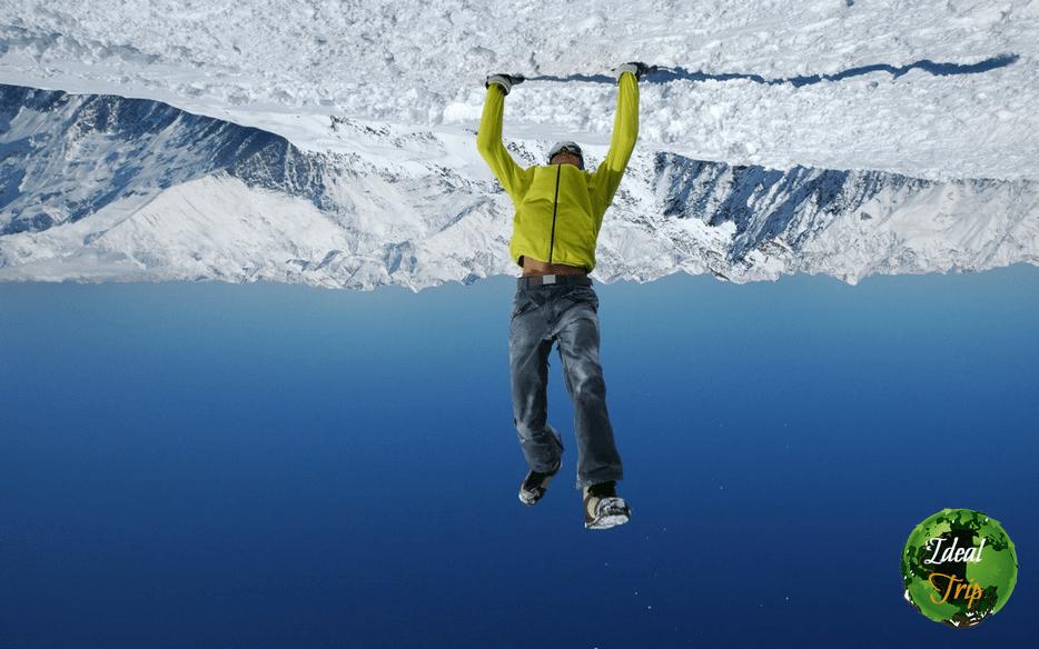 Павел Сырцов в Альпах