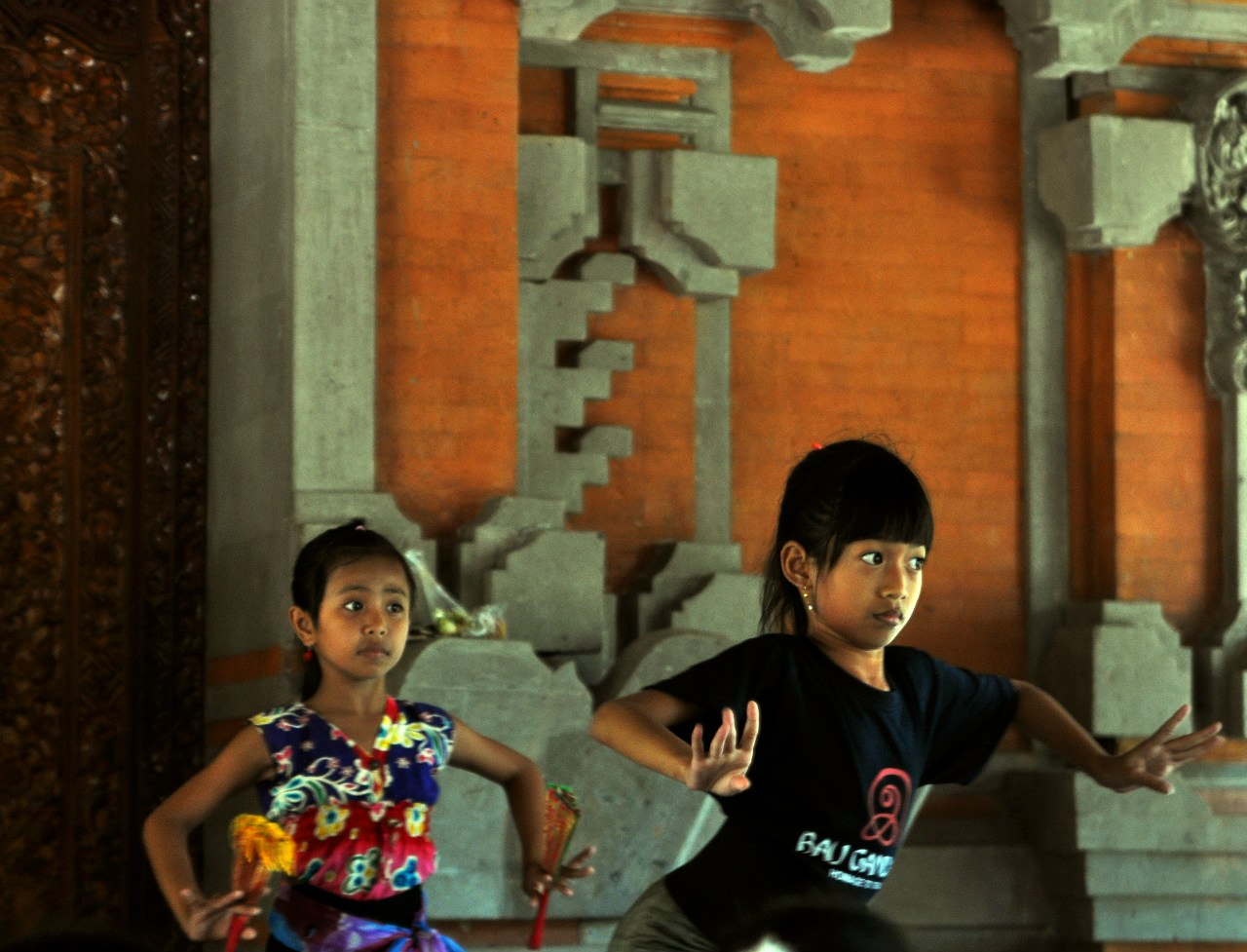 Балийские девочки