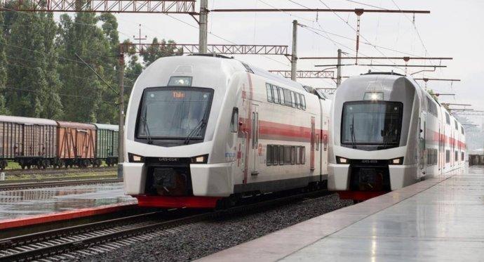 Поезд из Тбилиси в Батуми