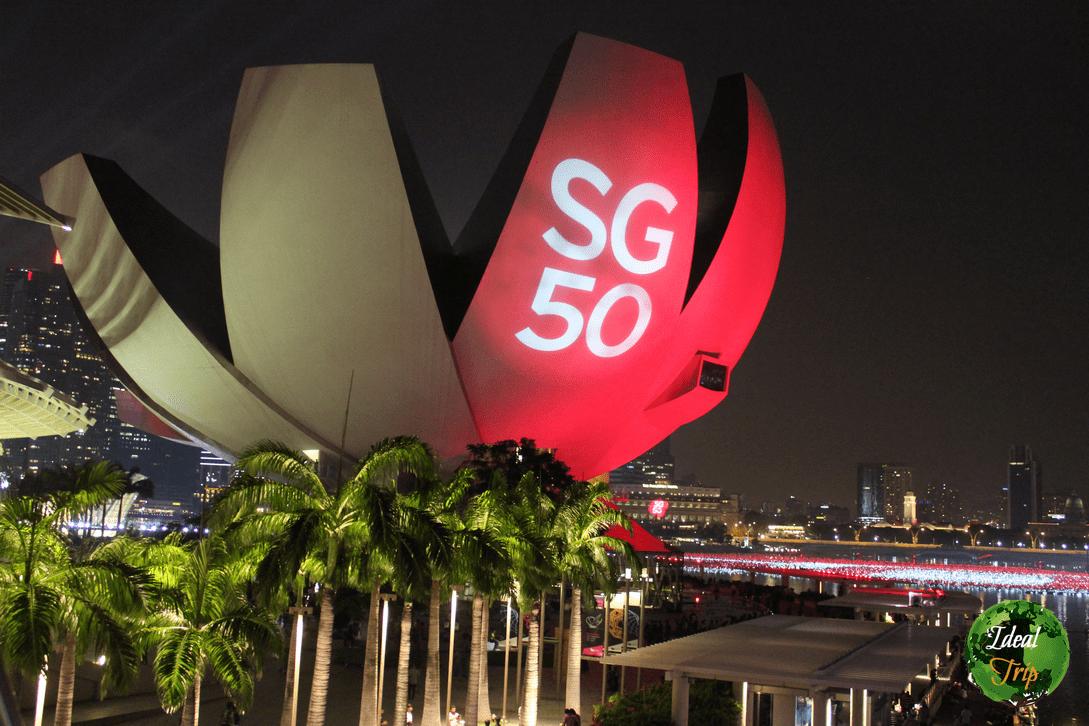 Сингапур отмечает 50-летие города