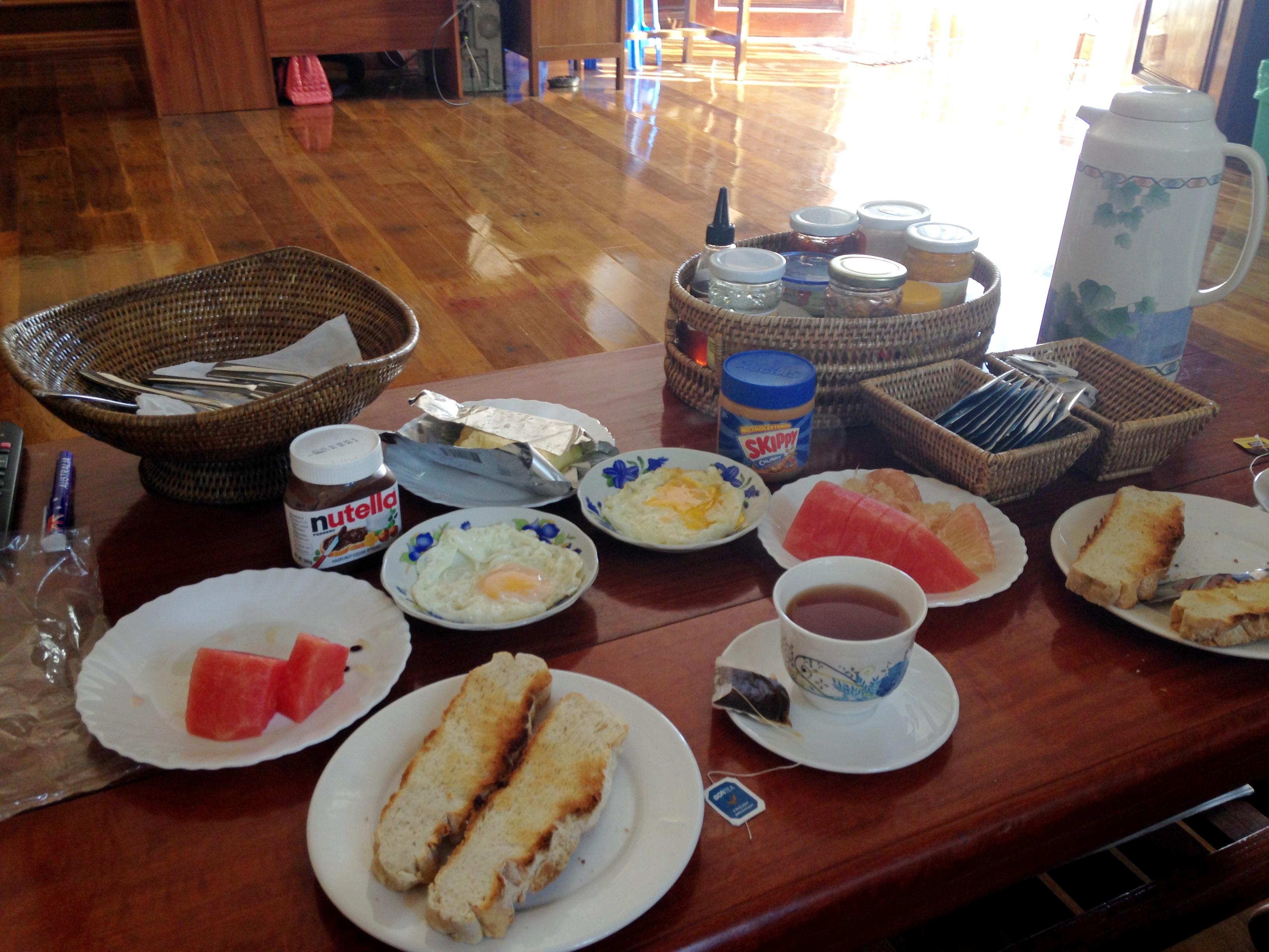 Завтрак в г. Янгон