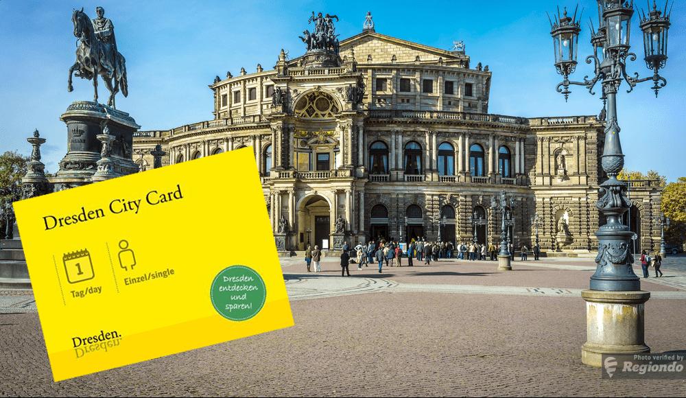 Сити кард для Дрездена