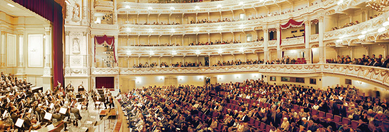Опера Земпер в Дрездене