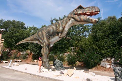 Парк динозавров в Дрездене
