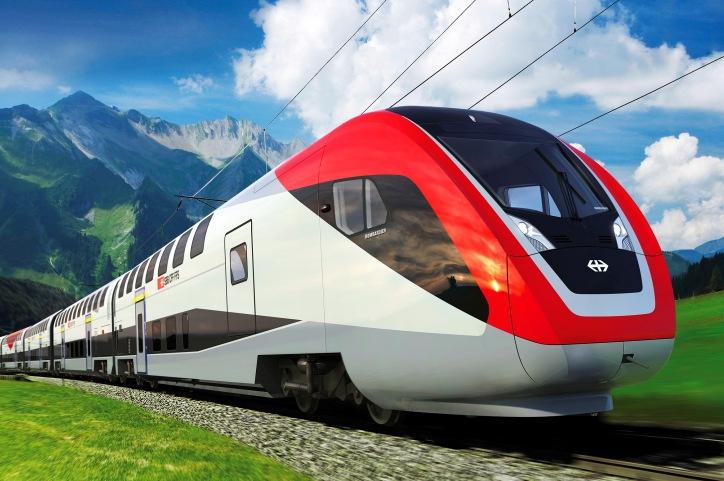 Поезд в Дрезден
