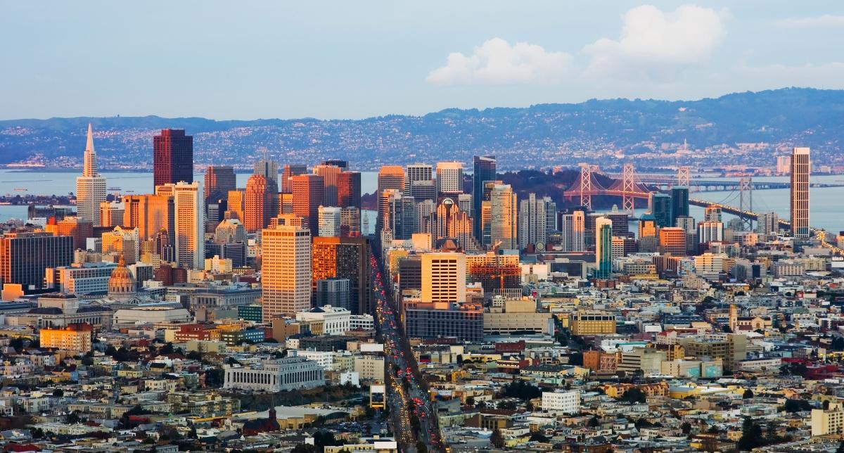 Утренний Сан-Франциско