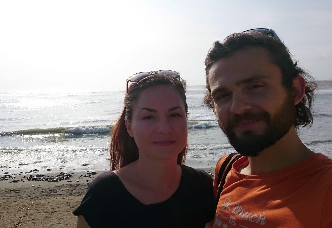 Лена и Никита в Уанчако, Перу