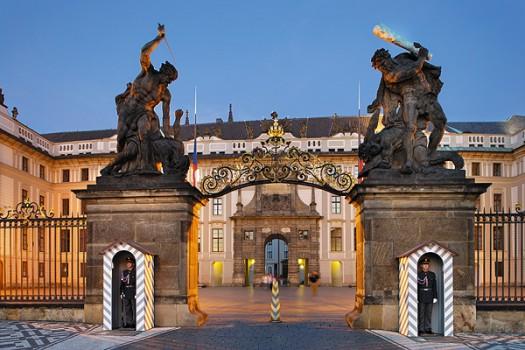 Внутри Пражского града