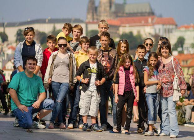 Дети в Праге