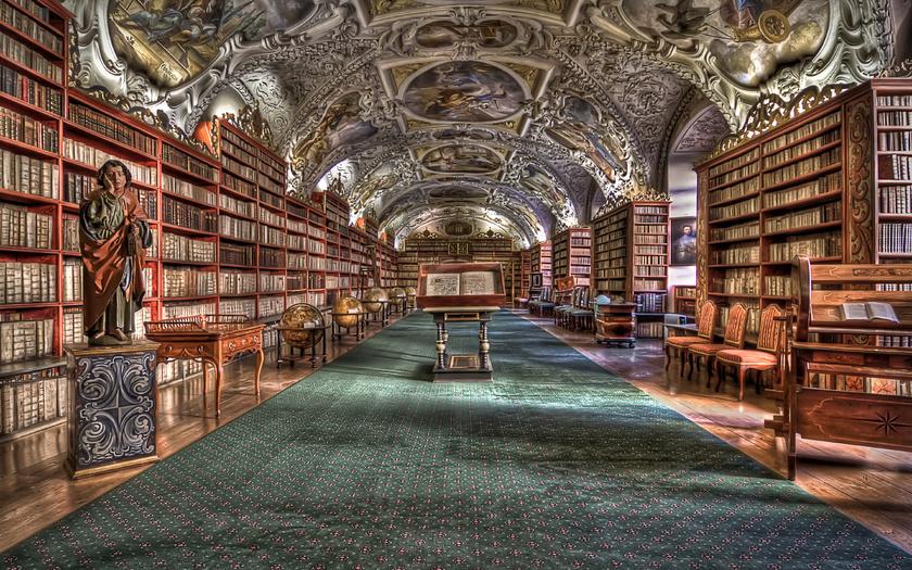 Страговский монастырь - библиотека