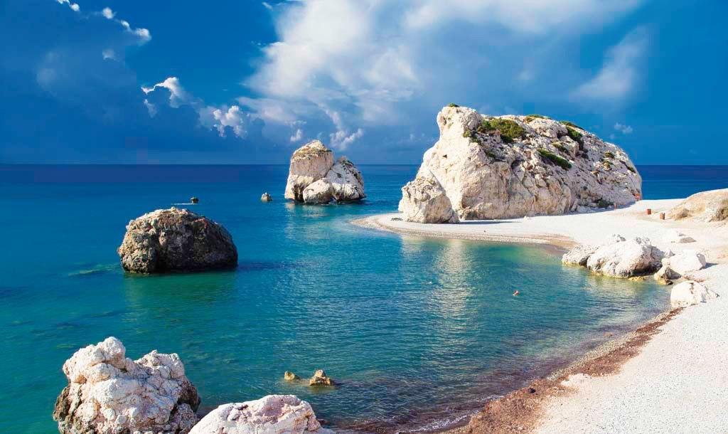 Лучшие пляжи Кипра с белым песком на карте: фото, Нисси Бич и Макронисос