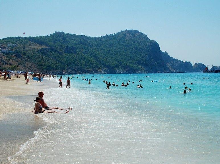 Море в Алании, Турция
