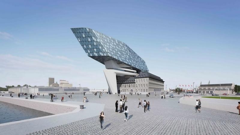Антверпен - интересное здание