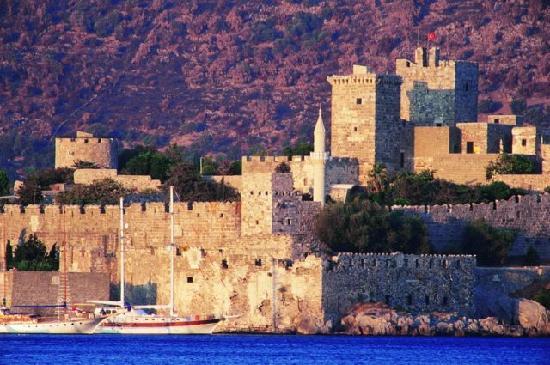 Замок в Турции
