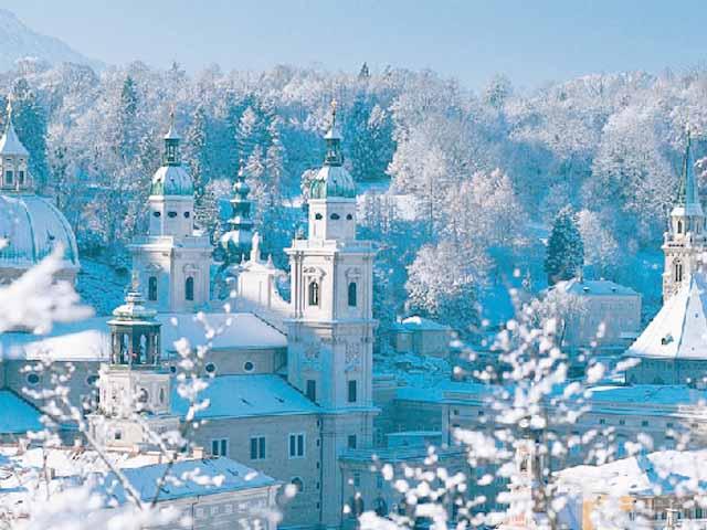 Зима в Зальцбурге