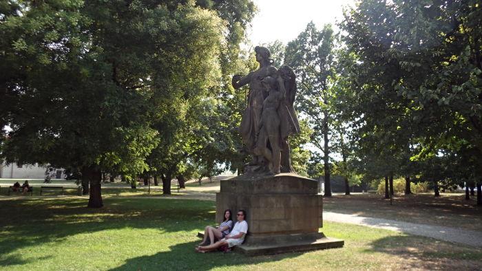 Лумир и Песня в Вышеградском парке