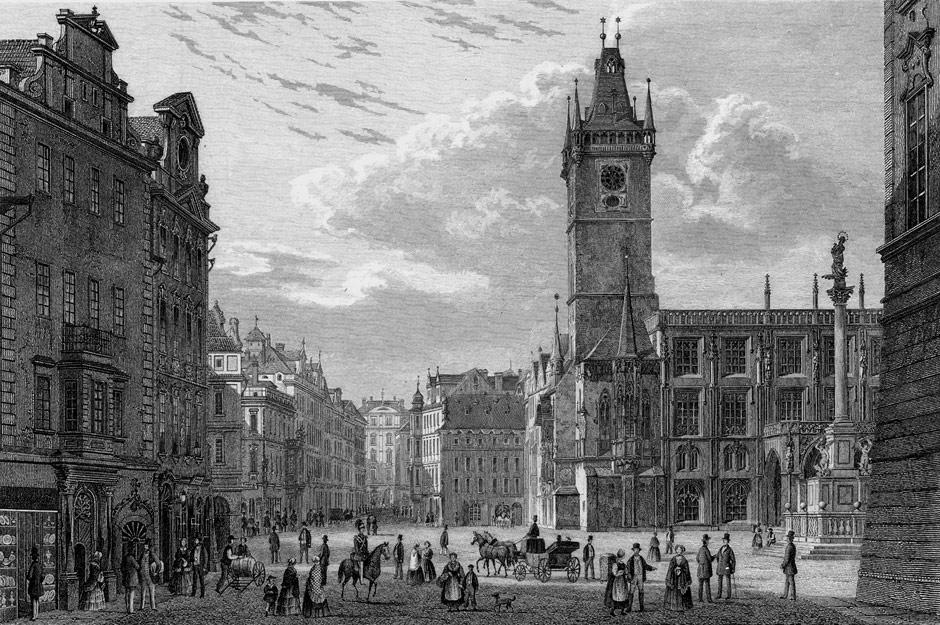 Прага в 1835 году