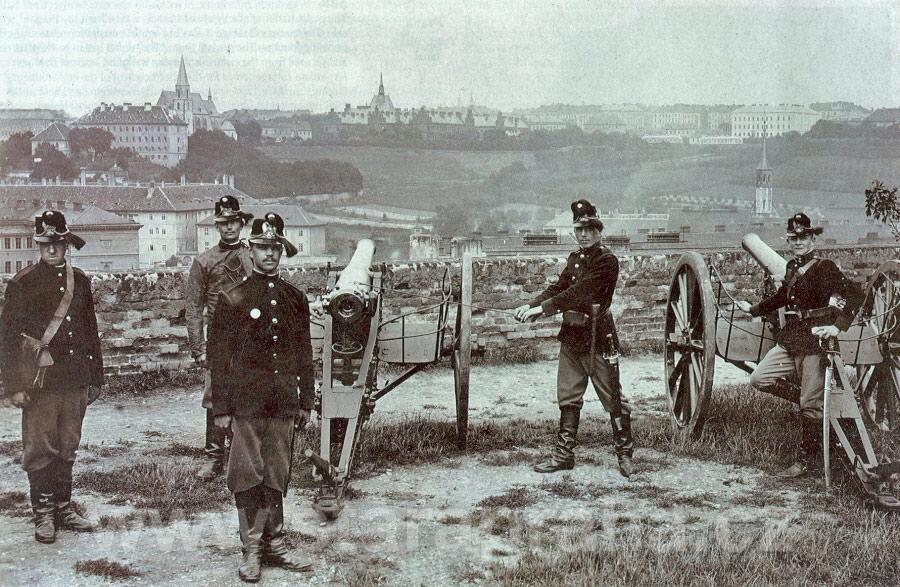 Вышеград во время войны