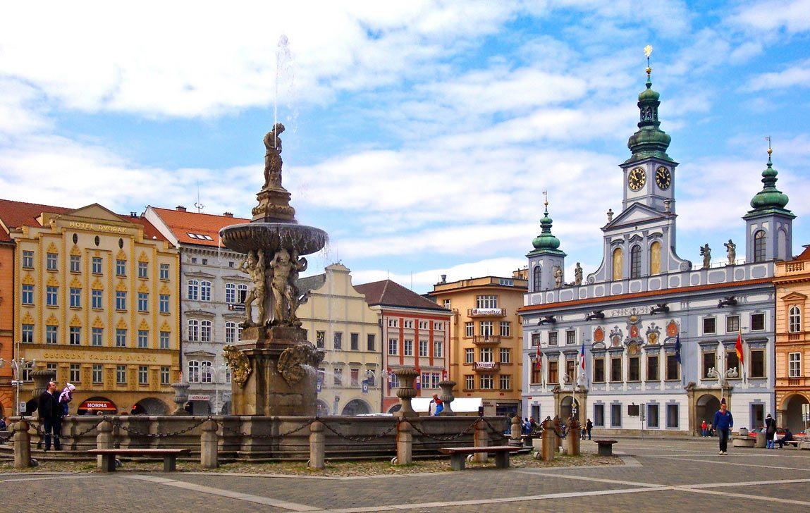 Ческе-Будеёвице в Чехии